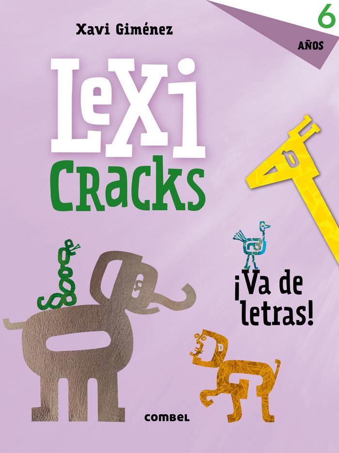Lexicracks va de letras 6 años