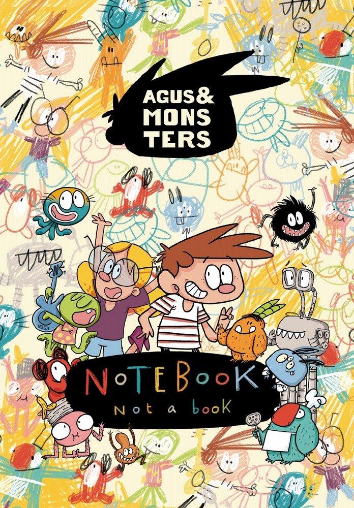 Monster notebook libreta 4º c/goma lisa agus & monsters