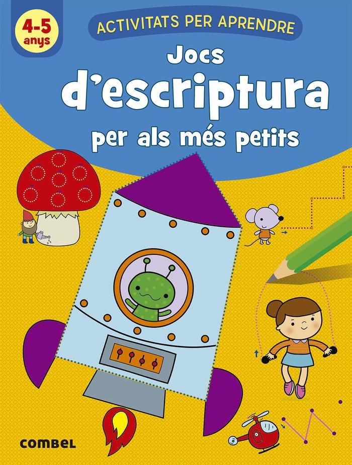Jocs d`escriptura per als mes petits 4-5 anys
