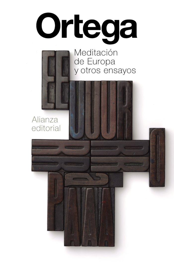 Meditacion de europa y otros ensayos