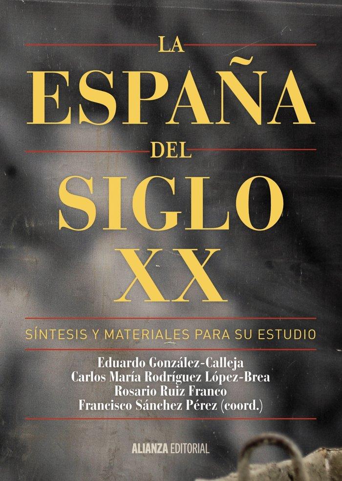 España del siglo xx,la