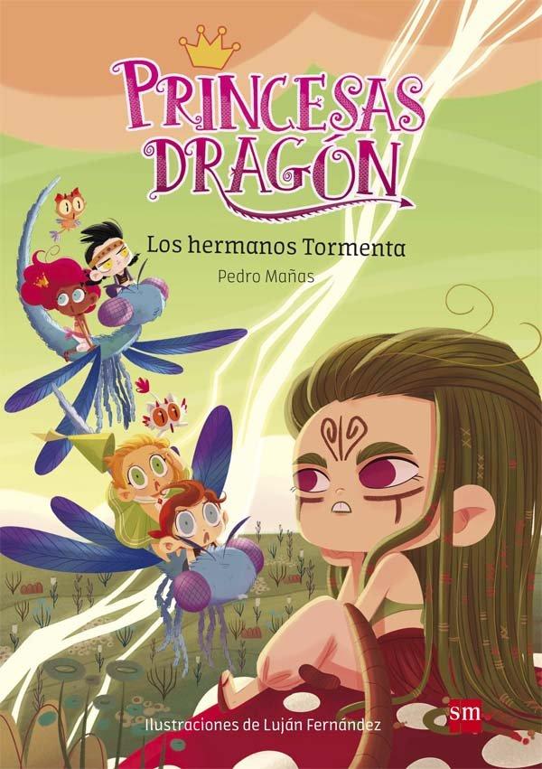 Princesas dragon 5 los hermanos tormenta