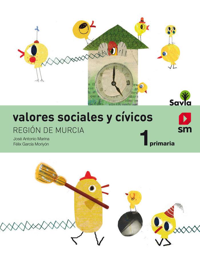 Valores sociales civicos 1ºep murcia 19 savia