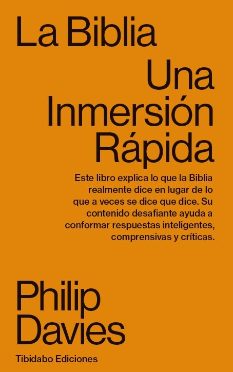 Biblia,la una inmersion rapida
