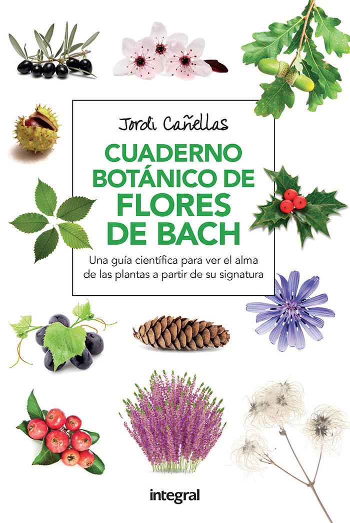 Cuaderno botanico flores de bach