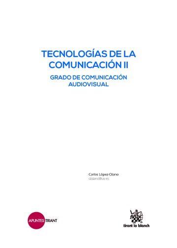 Tecnologias de la comunicacion ii