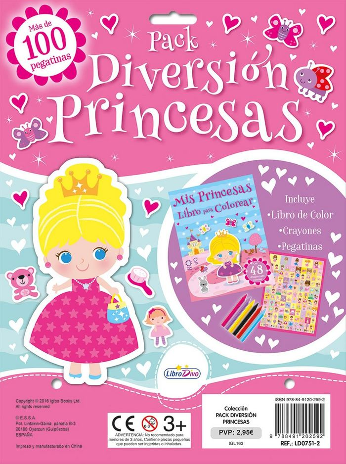 Princesas pack diversion