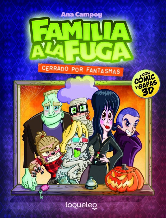 Familia a la fuga 3 cerrado por fantasmas