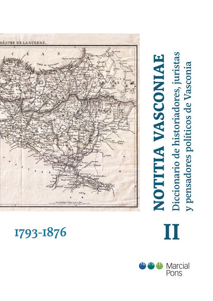 Notitia vasconiae 1793 1876