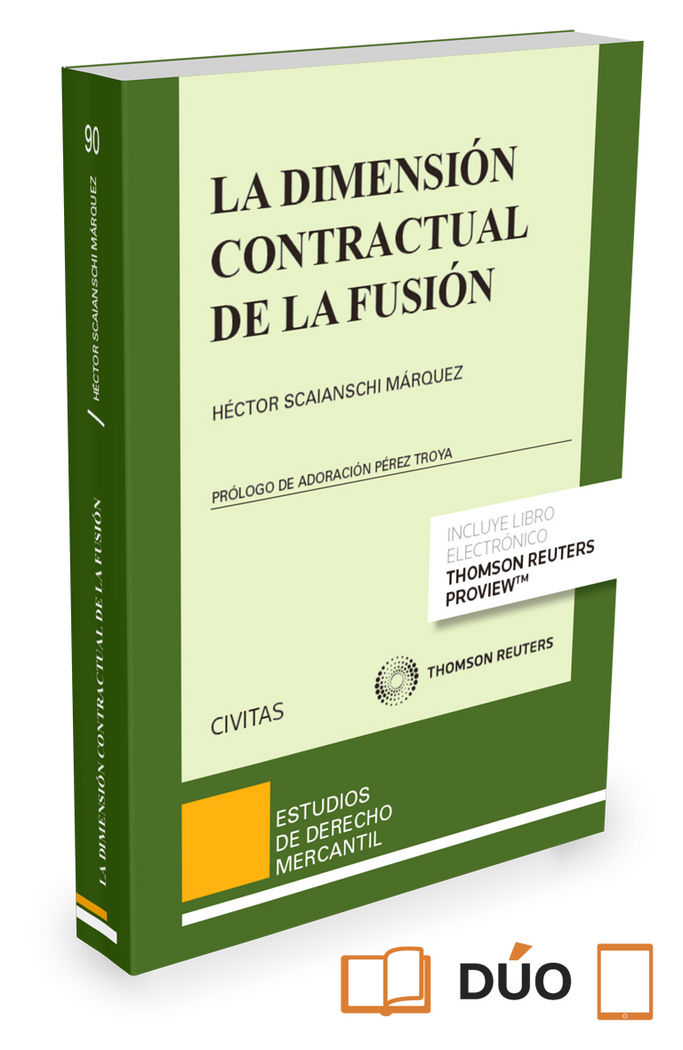 Dimension contractual de la fusion