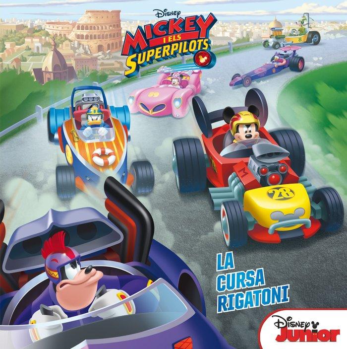 Mickey i els superpilots. la cursa rigatoni