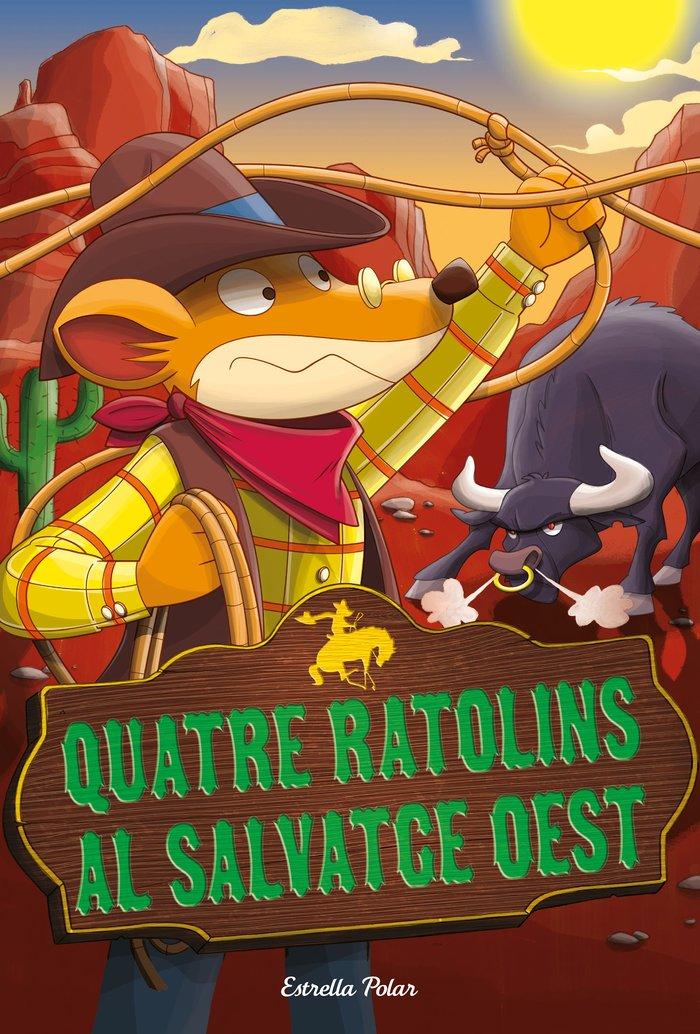 Geronimo stilton 27 quatre ratolins al salvatge oest