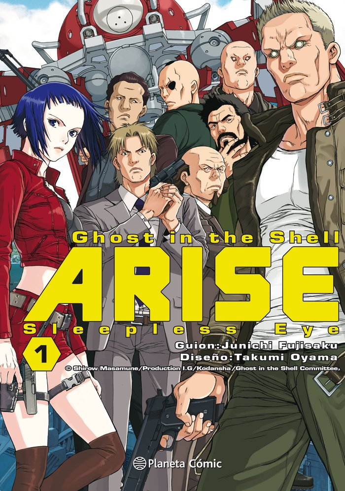 Ghost in the shell arise 1