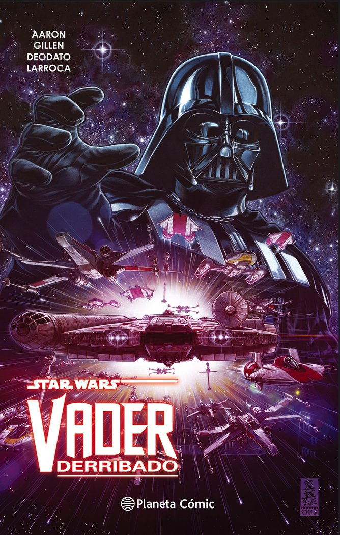 Star wars vader derribado