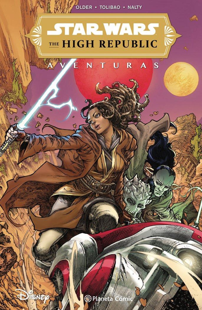 Star wars high republic aventuras 1 tomo