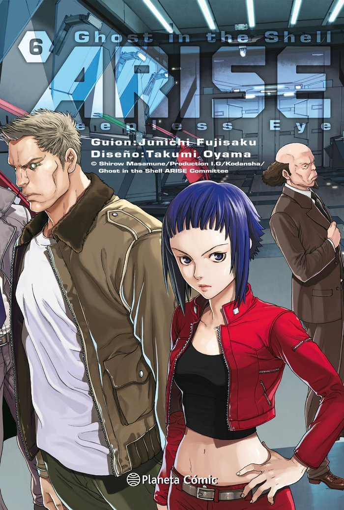 Ghost in the shell arise n6/07