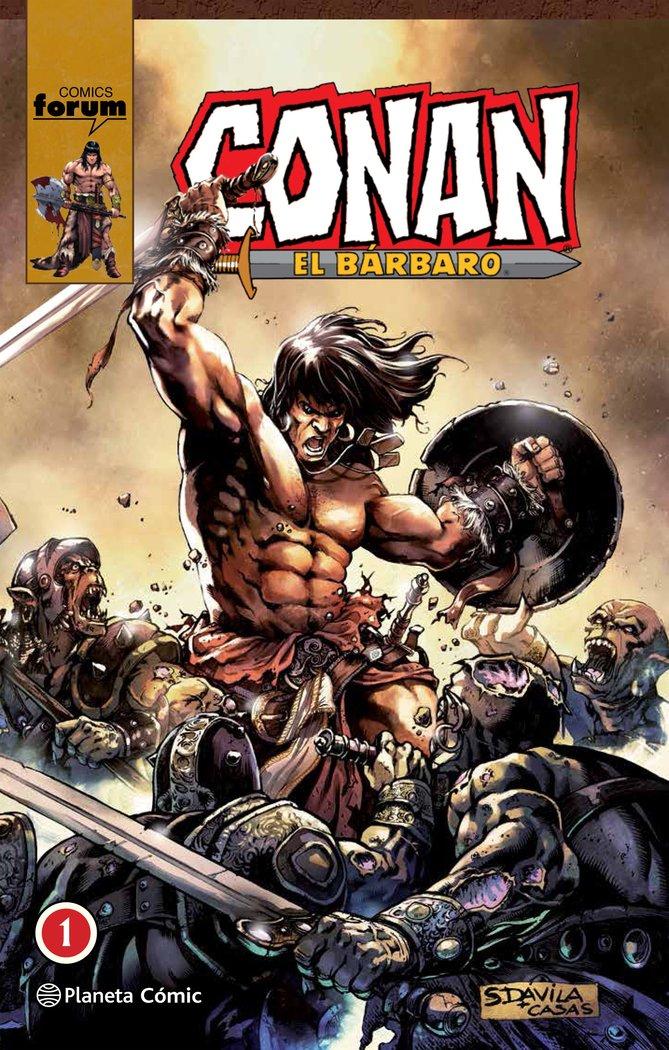 Conan el barbaro 01/10 integral