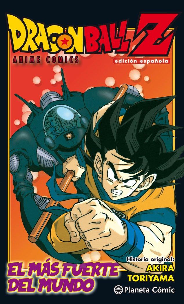 Dragon ball z anime comic el hombre mas f