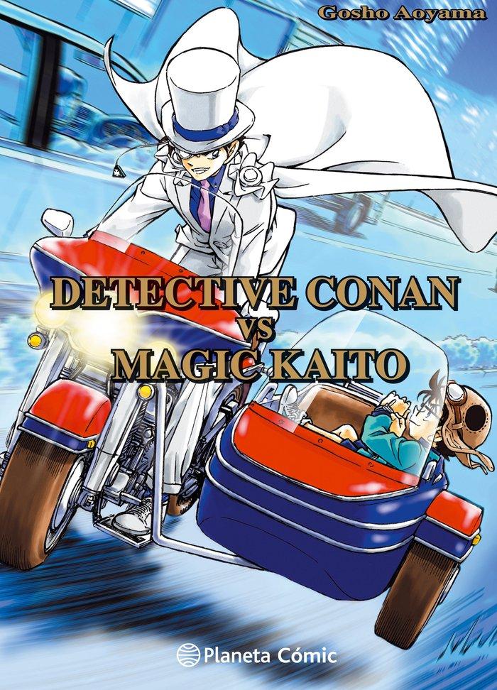 Detective conan vs magic kaito
