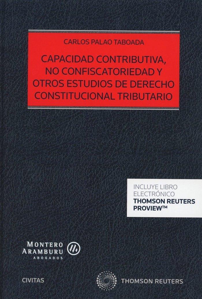 Capacidad contributiva no confiscatoriedad y otros estudios