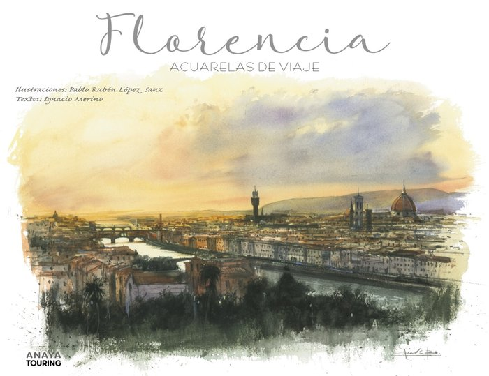 Florencia acuarelas de viaje