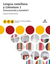 Lengua castellana y literatura i fpb 18 comun.soci