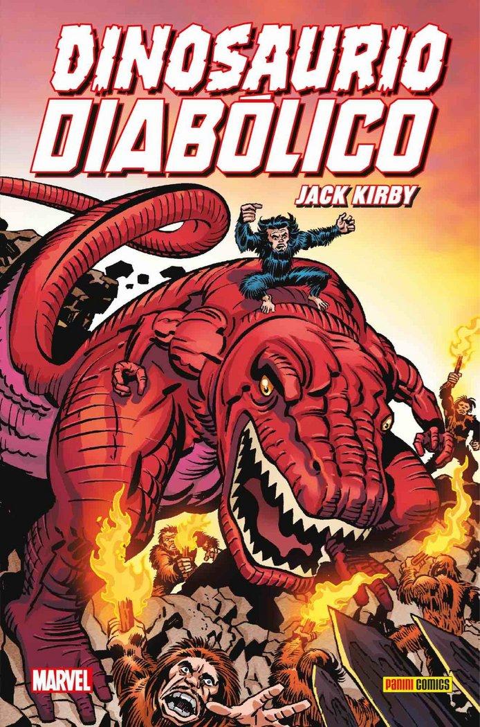 Dinosaurio diabolico de jack kirby