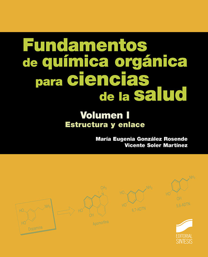 Fundamentos de quimica organica para ciencias de la salud. v