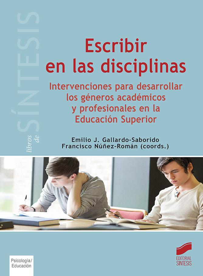 Escribir en las disciplinas
