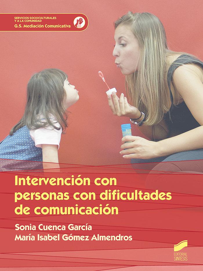 Intervencion con personas con dificultad de comunicacion