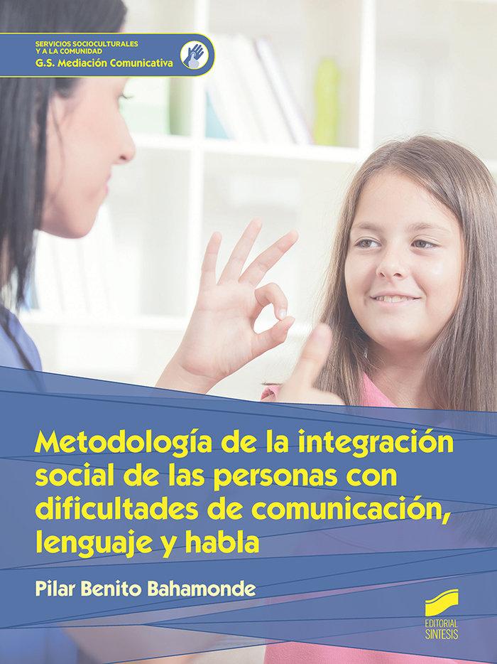Metodologia integracion social personas con discapacidad