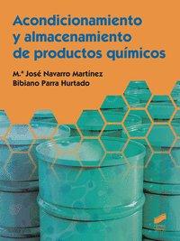 Acondicionamiento almacenamiento productos quimicos