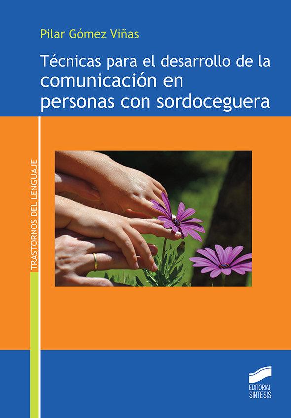 Tecnicas para desarrollo comunicacion personas sordoceguera