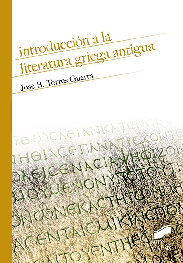 Introduccion a la literatura griega antigua - nº13