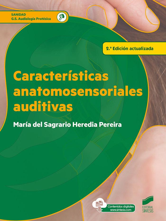Caracteristicas anatomosensoriales auditivas