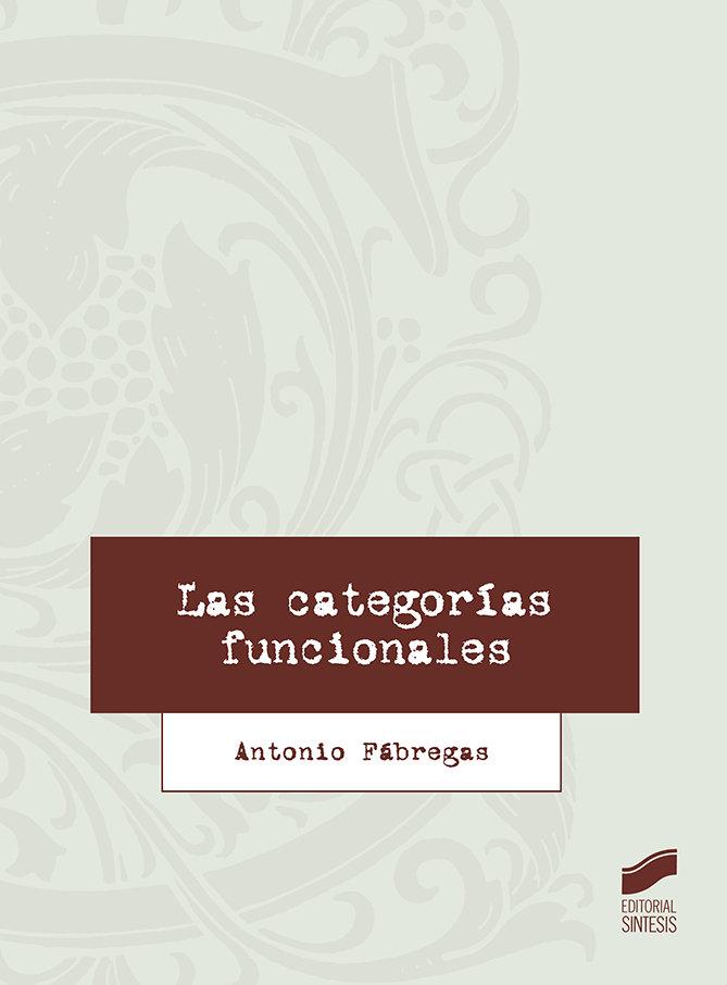 Categorias funcionales,las