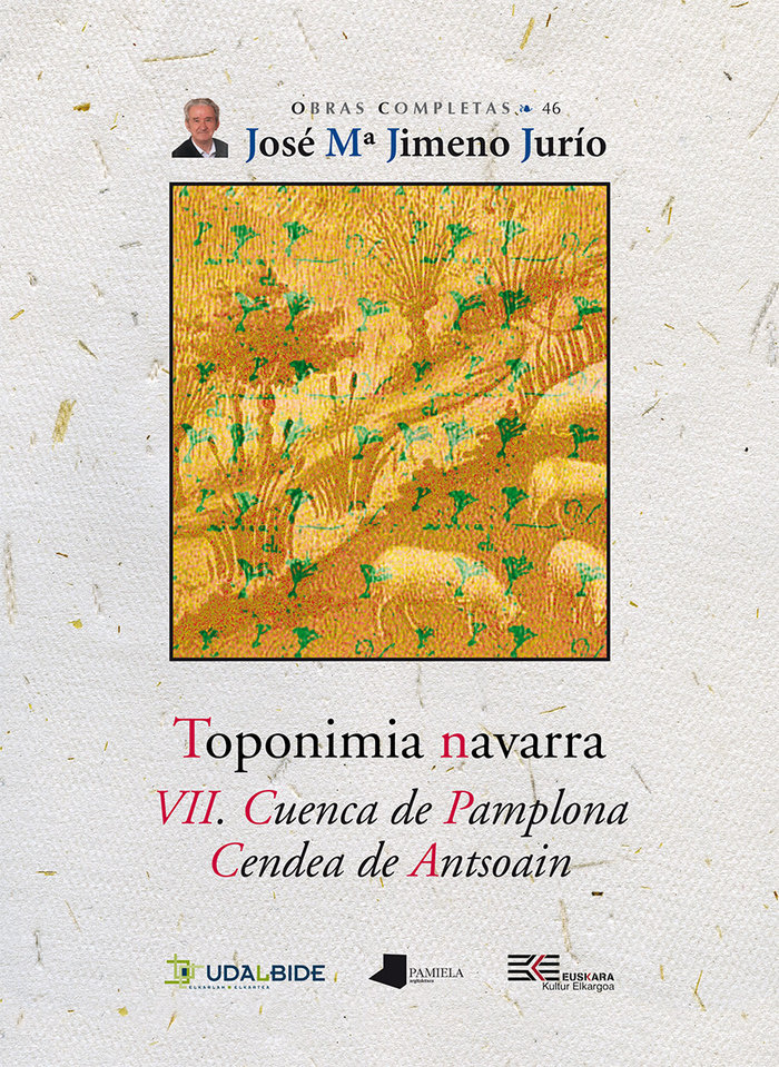 Toponimia navarra. vii. cuenca de pamplona. cendea de antsoa