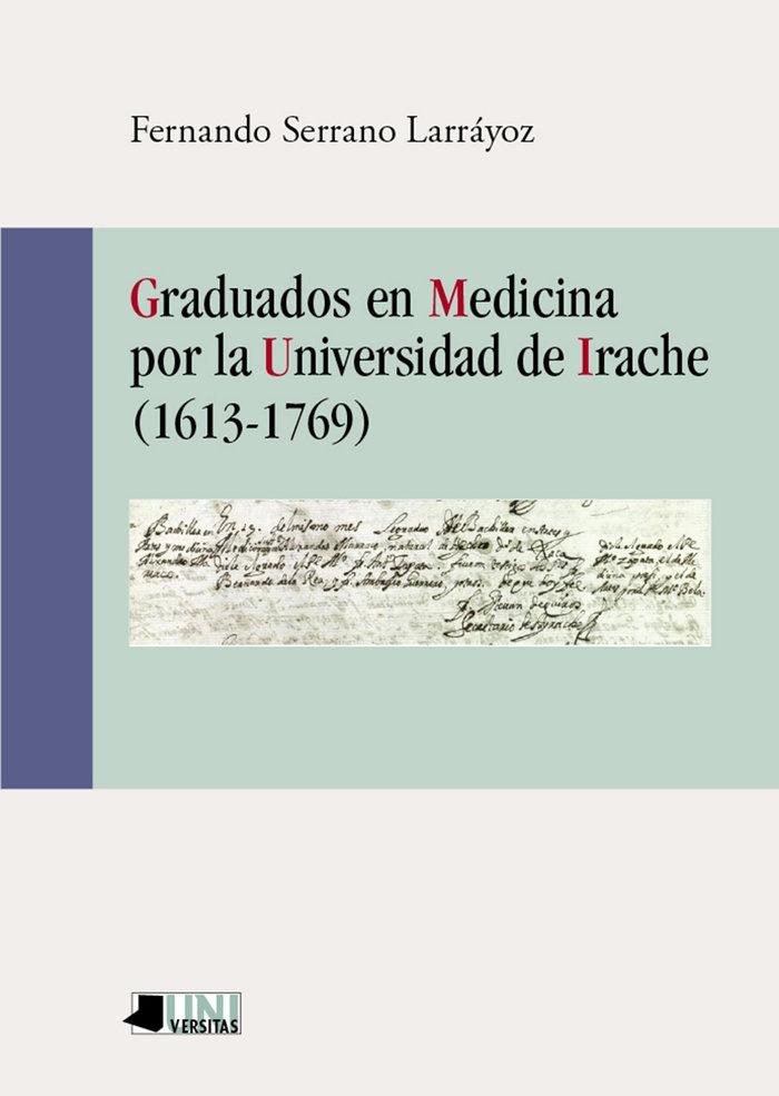 Graduados en medicina por la universidad de irache (1613-176