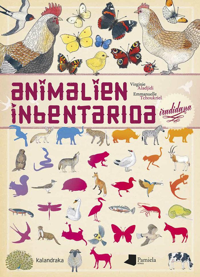 Animalien inbentarioa irudiduna euskera