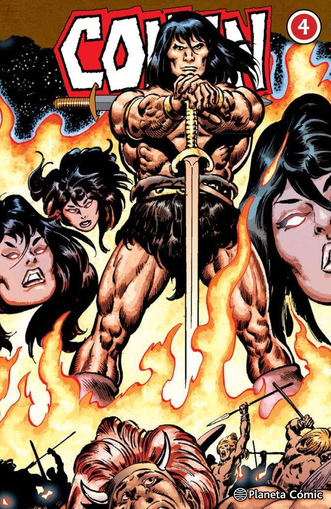 Conan el barbaro 04/10 (integral)