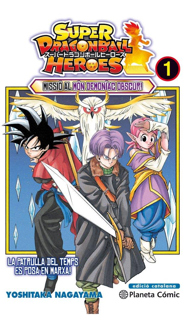 Super bola de drac heroes n 01