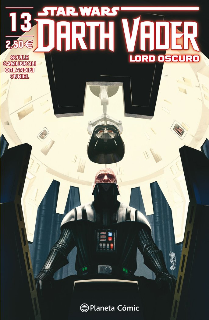 Star wars darth vader lord oscuro nº 13