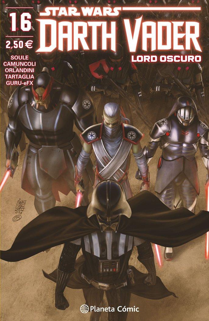 Star wars darth vader lord oscuro nº 16