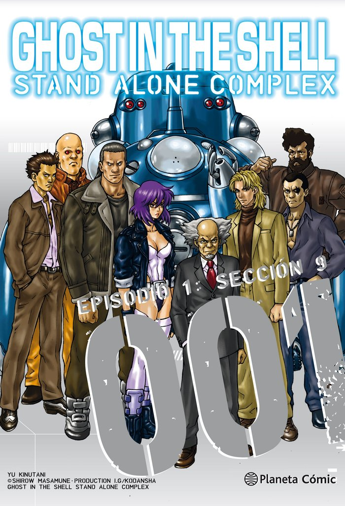 Ghost in the shell stand alone complex nº 01