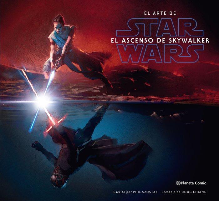 Star wars el arte de el ascenso de skywalker
