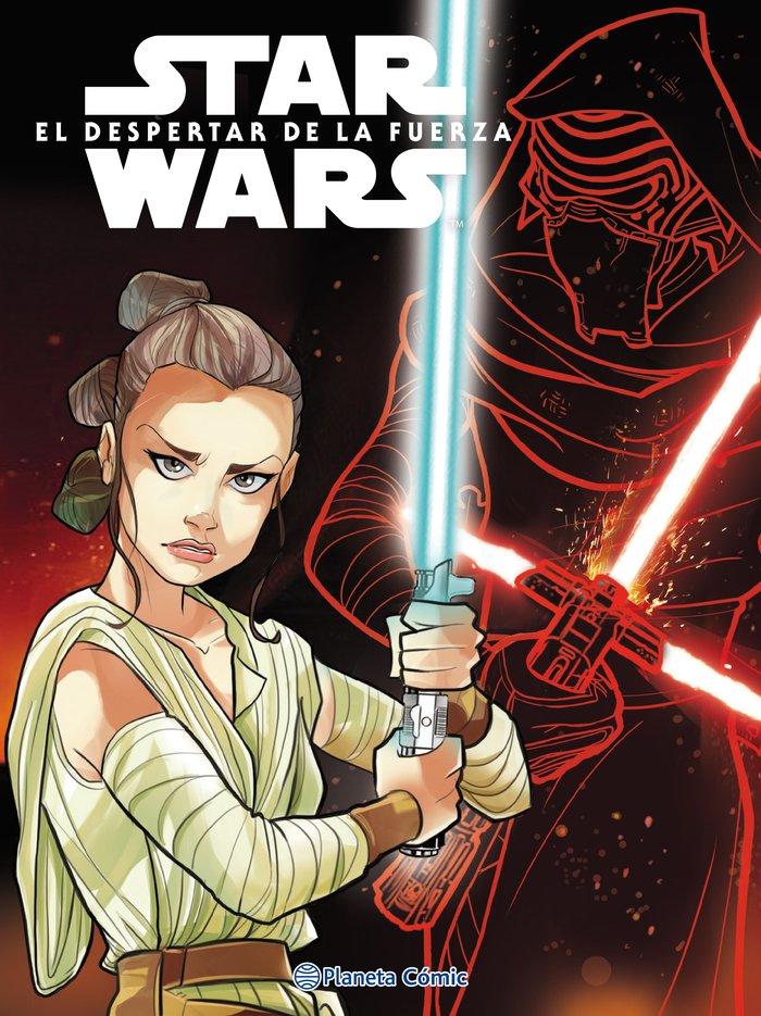 Star wars el despertar de la fuerza - comic infantil
