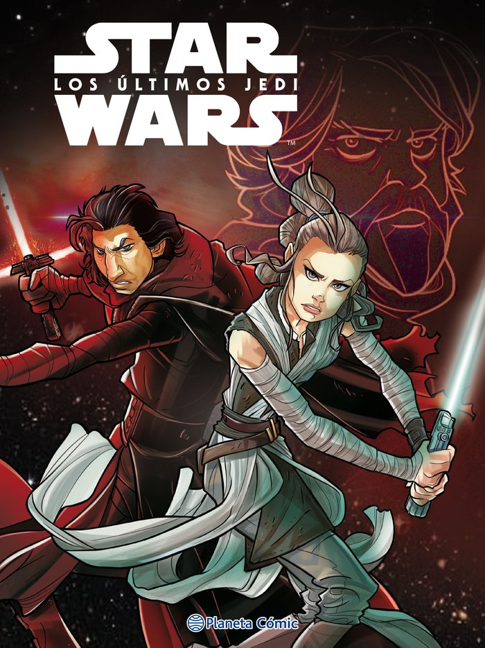Star wars los ultimos jedi - comic infantil
