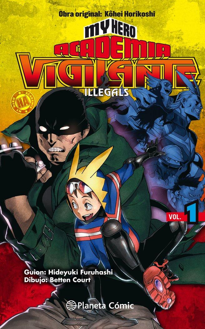 My hero academia vigilante illegals 1