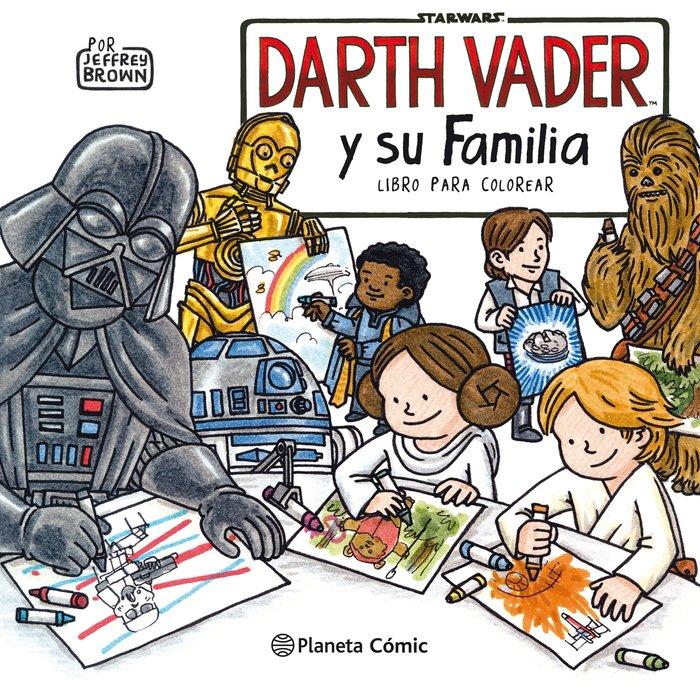 Star wars darth vader y su familia coloring book