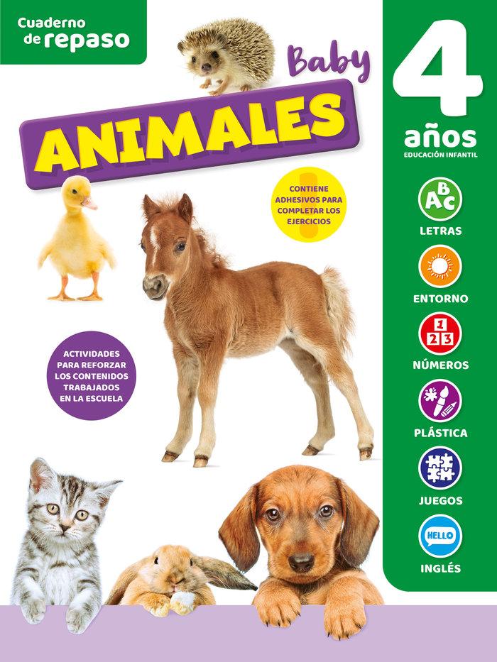 Cuaderno tematico luminiscente 4 años animales bab